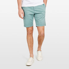 CHARLIE STRETCH CHINO SHORT  SAGE GREEN  hi-res