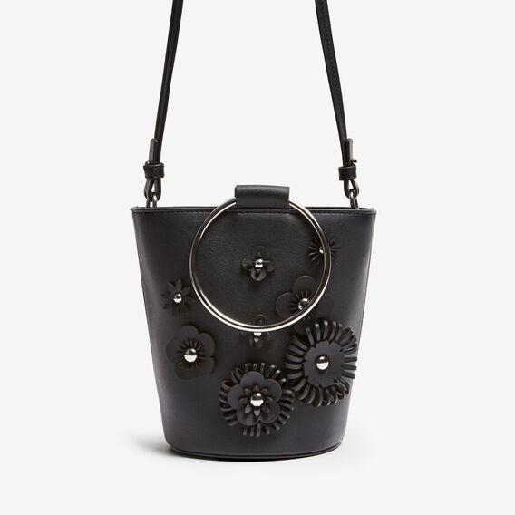 FLOWER POT BAG  BLACK  hi-res