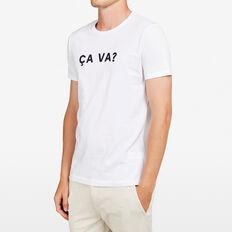 CA VA CREW NECK T-SHIRT  WHITE  hi-res