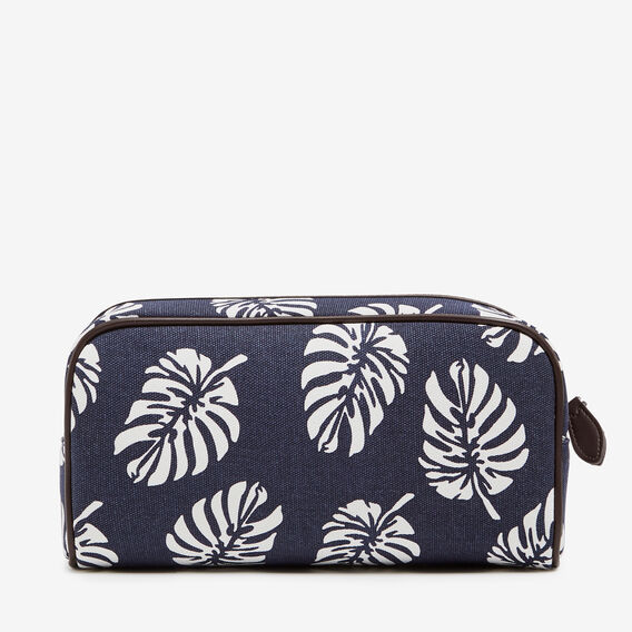 PALM PRINTED WASH BAG  PALM PRINT  hi-res