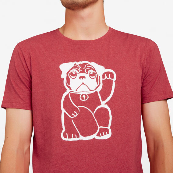 FORTUNE DOG T-SHIRT  RED MARLE  hi-res