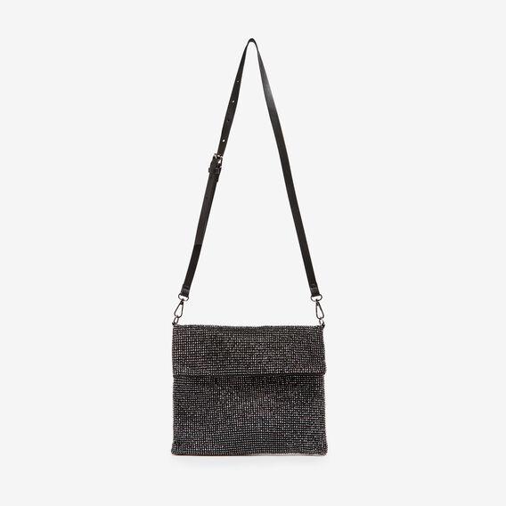 SPARKLE SLOUCH BAG  BLACK  hi-res