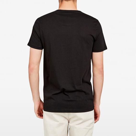FCUK BOLD SLOGAN T-SHIRT  BLACK/WHITE  hi-res