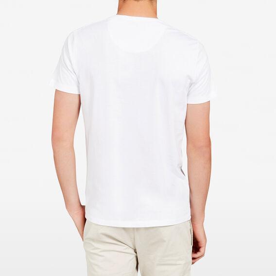 PINEAPPLE CREW NECK T-SHIRT  WHITE  hi-res