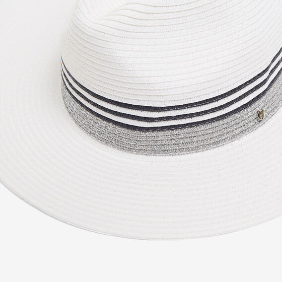 COLOUR BLOCK FEDORA  MULTI  hi-res