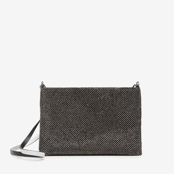 SPARKLE CLUTCH  BLACK  hi-res