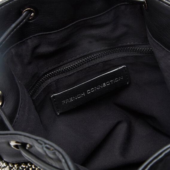 SPARKLE BUCKET BAG  JET BLACK  hi-res