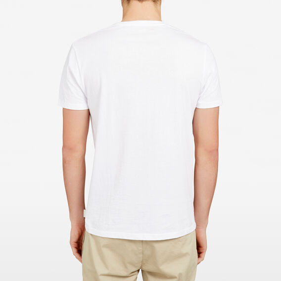 ROAD TRIP CREW NECK T-SHIRT  WHITE  hi-res