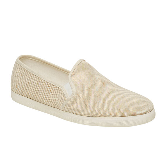 SUMMER CANVAS SLIP ON  OATMEAL  hi-res