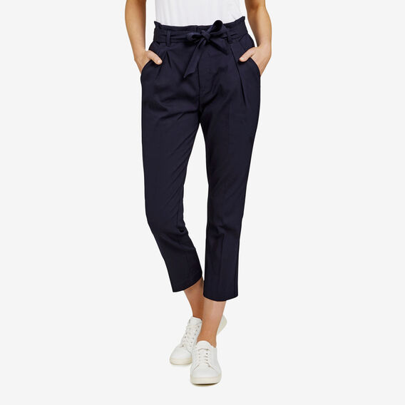 PAPER BAG WAIST PANT  NOCTURNAL  hi-res