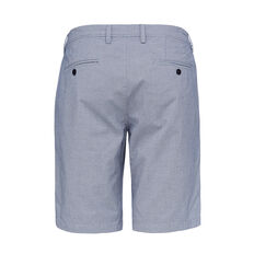 MICRO HOUNDSTOOTH SHORT  MID BLUE/WHITE  hi-res
