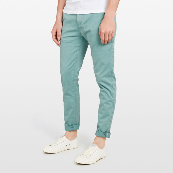 SLIM FIT STRETCH CHINO PANT  SAGE GREEN  hi-res