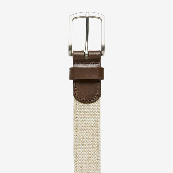 STAMFORD CANVAS BELT  NATURAL  hi-res