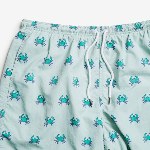 PINCHY CRAB SWIM SHORT  SPEARMINT  hi-res