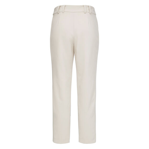 ALANA LIGHT PLEAT FRONT PANT  AFRICAN STONE  hi-res