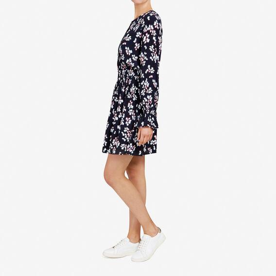 FLORAL DRESS  NOCTURNAL/MULTI  hi-res