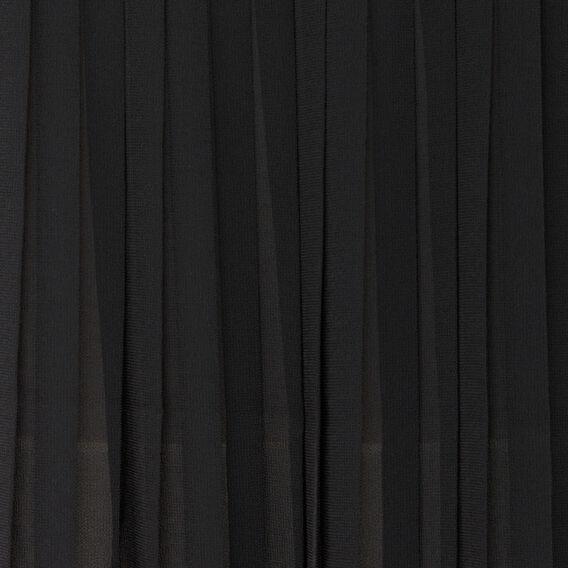 POLLY PLAINS PLEAT BACK SHIRT  BLACK  hi-res