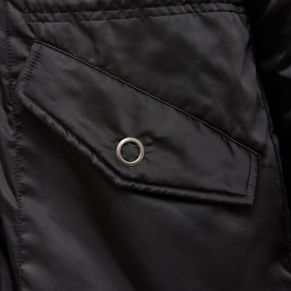 LONGLINE PUFFA PARKA  BLACK  hi-res