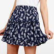 PINEAPPLE TIERED SKIRT  NOCTURNAL/SUMMER WHI  hi-res