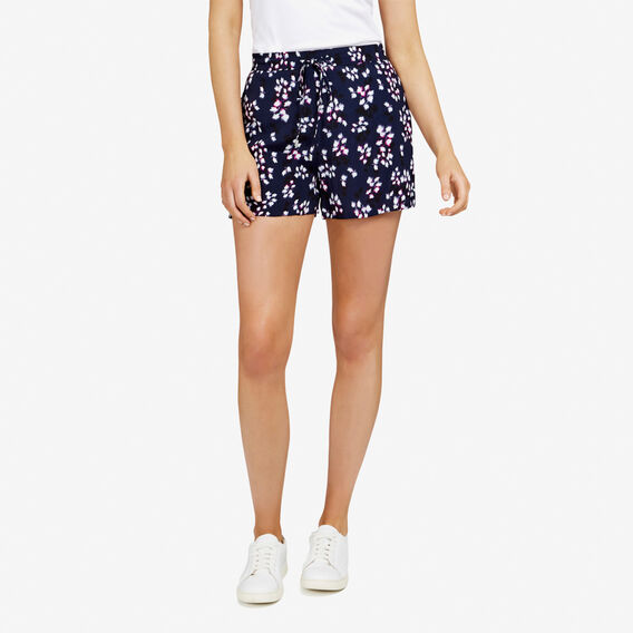 FLORAL PRINTED SOFT SHORT  NOCTURNAL MULTI  hi-res
