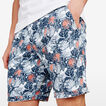 SPRING BREAK FLORAL SHORT  MARINE BLUE  hi-res