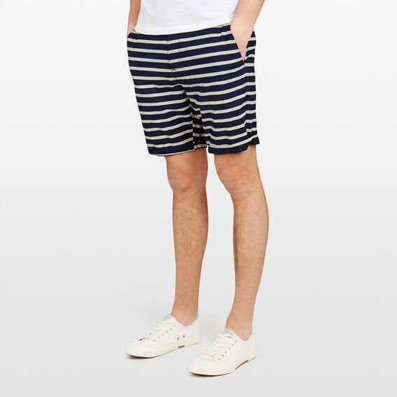 KONA STRIPE SHORT  MARINE BLUE STRIPE  hi-res
