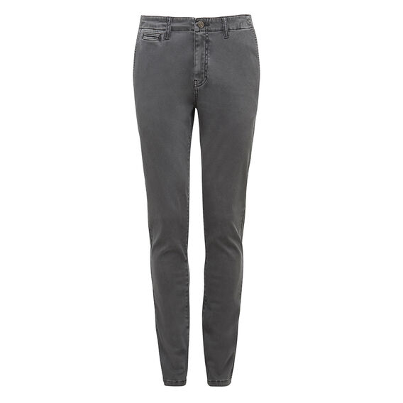 HENRY SLIM FIT CHINO PANT  WASHED CHARCOAL  hi-res