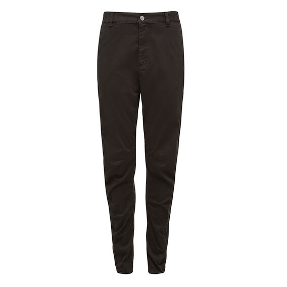 COTTON DRILL RELAXED PANT  BLACK  hi-res
