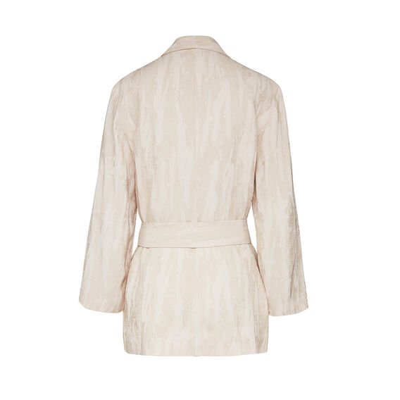 PALM CREPE JACKET  AFRICAN STONE  hi-res
