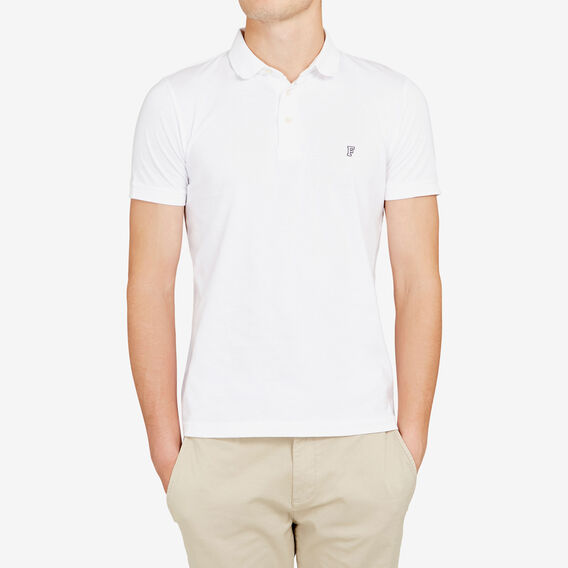 HAMPTON POLO  WHITE  hi-res