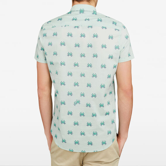 PINCHY CRAB REGULAR FIT SHIRT  LIGHT SPEARMINT  hi-res