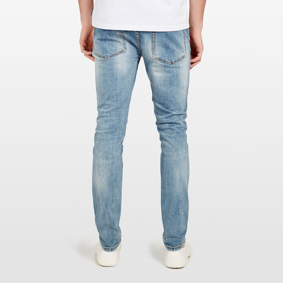 MIAMI DISTRESSED SKINNY FIT JEAN  VINTAGE DENIM  hi-res