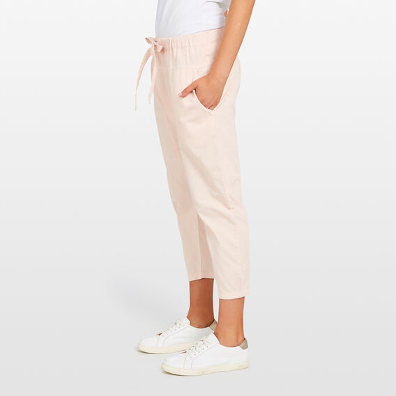 DENIM HAREM PANT  BLUSH  hi-res