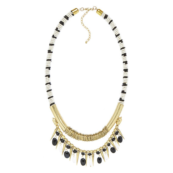 BEADED NECKLACE  MULTI  hi-res