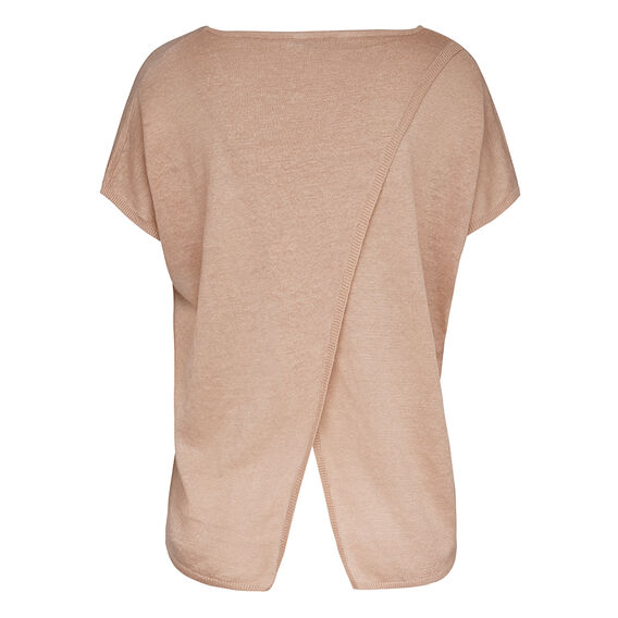 MARKY LINEN KNIT  DUSTY PINK  hi-res