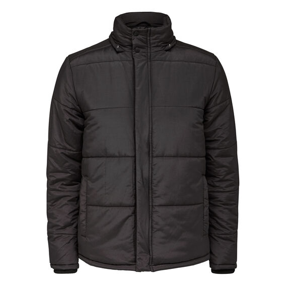 EXPLORER PUFFER JACKET  BLACK  hi-res