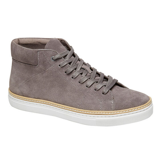SUEDE HIGH TOP SNEAKER  GRANITE GREY  hi-res