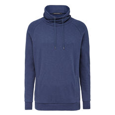 FUNNEL NECK SWEAT  OXFORD BLUE  hi-res