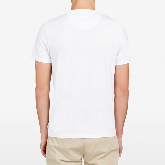 FCUK DOWN UNDER CREW NECK T-SHIRT  WHITE  hi-res