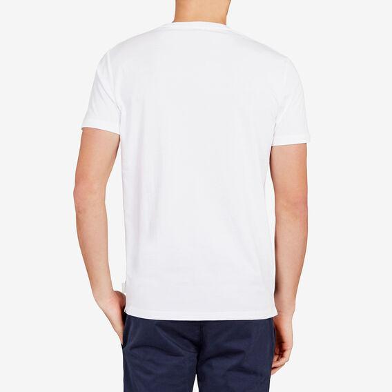 BLOCK STRIPE T-SHIRT  WHITE  hi-res
