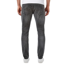SLIM TAPERED WASHED CHARCOAL JEAN  WASHED CHARCOAL  hi-res