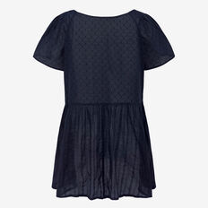 DON'T BE DOBBY PEPLUM TOP  NOCTURNAL  hi-res