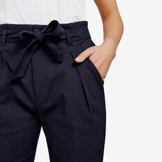 PAPER BAG WAIST PANT  NOCTURNAL  hi-res