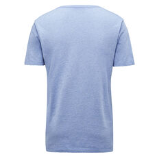 CLASSIC V NECK T-SHIRT  SKY BLUE MEL  hi-res