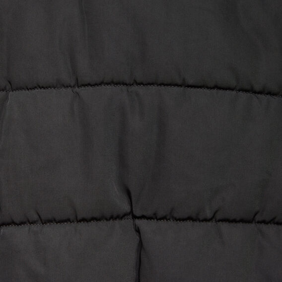 COLUMBIA PUFFER BOMBER JACKET  BLACK  hi-res