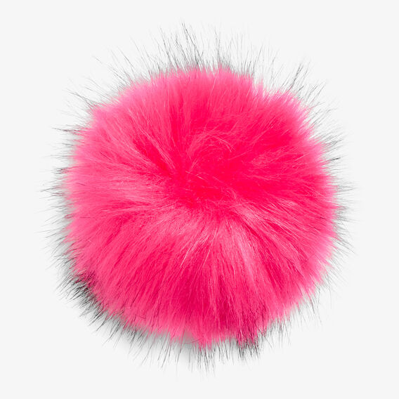 REMOVEABLE POM POM  ORCHID PINK  hi-res