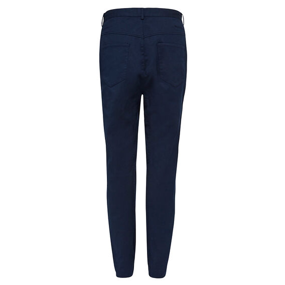 LOOSE TAPERED TWILL PANT  NAVY  hi-res