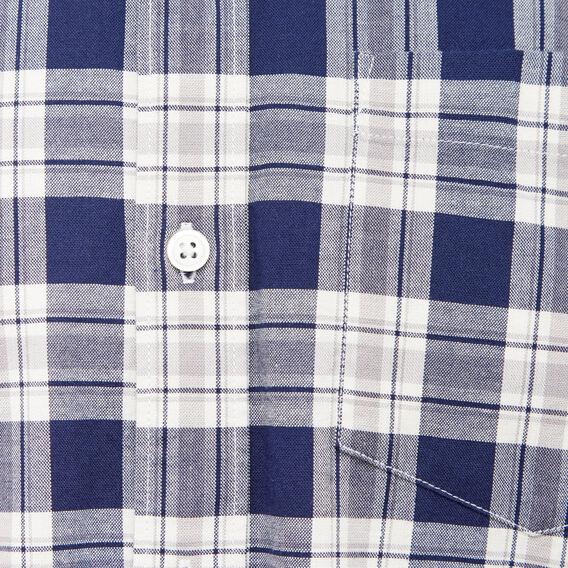 AMSTERDAM CHECK REGULAR FIT SHIRT  OXFORD BLUE/WHITE  hi-res