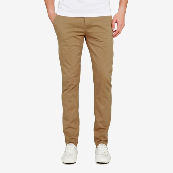 SLIM FIT STRETCH CHINO PANT  TOBACCO  hi-res