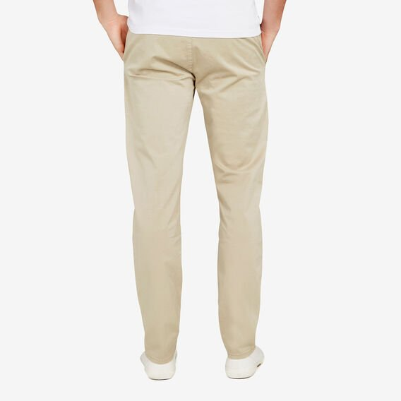 REGULAR FIT STRETCH CHINO PANT  STONE  hi-res
